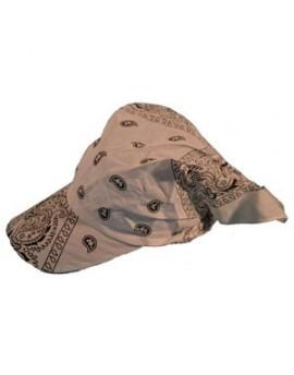 Foulard bandana casquette