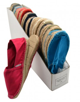 ESPADRILLES Display per size