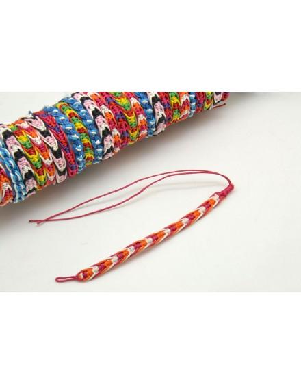 Lot de bracelets style macramé