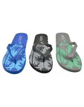 83b09b4e9581 Flip-flops MINI OASIS Junior with palm design - Mora Mora