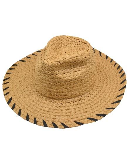 Chapeau de paille SOLEIA