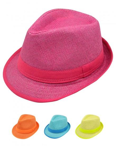 Lot de chapeau enfant borsalino KID FUN
