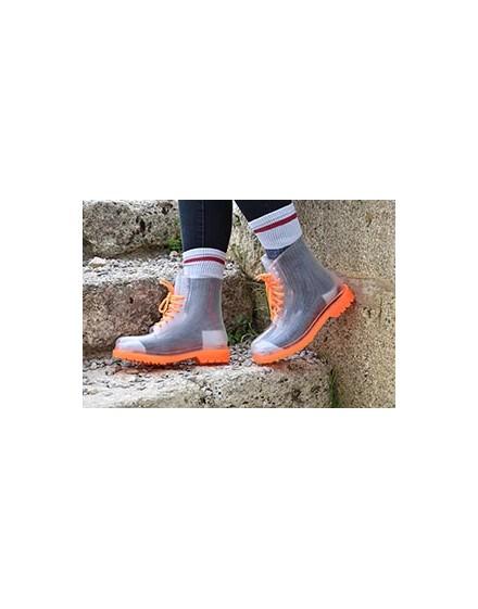 Transparent rubber boots AUCKLAND
