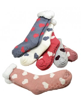 Socks POLAIRE CŒURS